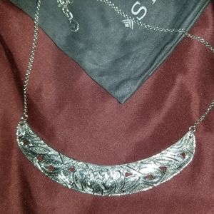 "Silpada ""Ahead of the Curve"" Necklace"